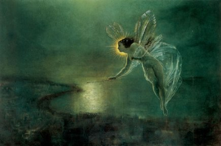 SPIRIT OF THE NIGHT, 1879, by John Atkinson Grimshaw